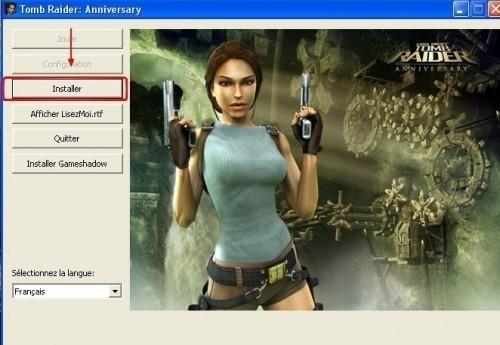 Problème d'installation de Tomb Raider Anniversary