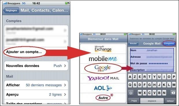 rajouter une boite mail suppl u00e9mentaire sur iphone