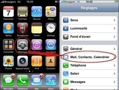 rajouter une boite mail supplémentaire sur iphone