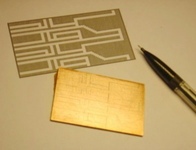 realisation circuit imprime electronique sans insoleuse ni graveuse 1