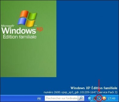 regler le volume du son sous xp 3