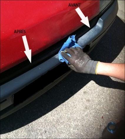 R nover ses plastiques et pare chocs astuces pratiques for Peinture pour plastique interieur voiture