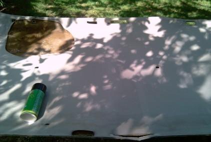 reparer et remplacer le toit interieur sur opel astra break 1992 3