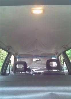 reparer et remplacer le toit interieur sur opel astra break 1992 8