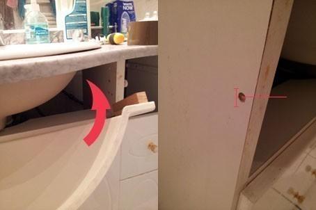 reparer un cache vasque 4