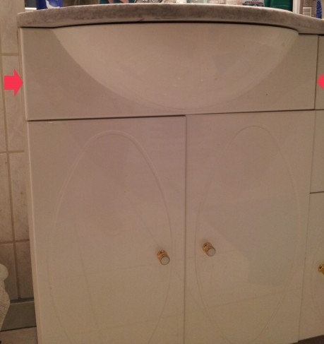 reparer un cache vasque 5