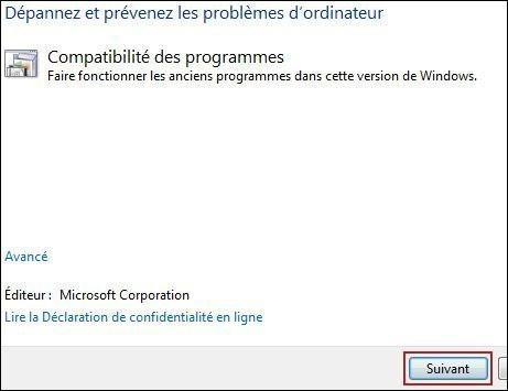resoudre vos problemes automatiquement windows seven 2