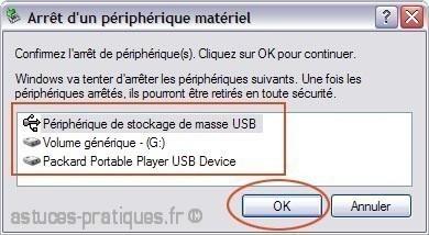 retirer votre peripherique usb en toute securite sur xp 3