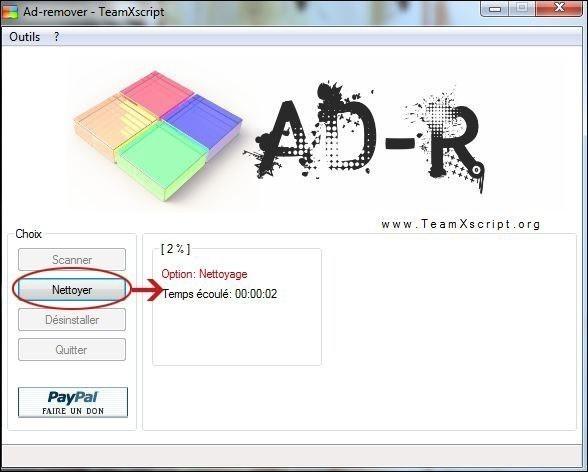 se debarrasser d un adware avec ad remover 1