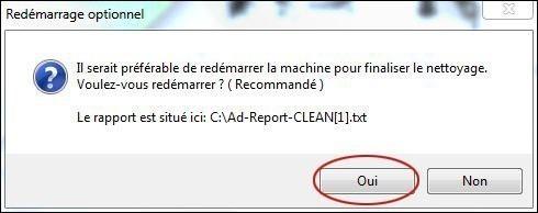 se debarrasser d un adware avec ad remover 2