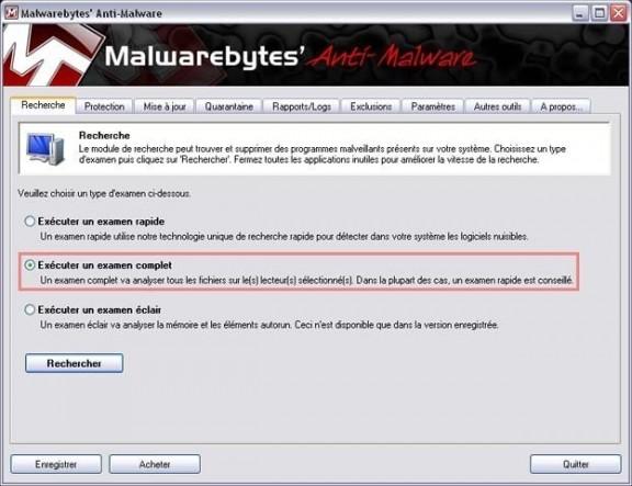 supprimer et se debarasser de microsoft security essentials alert 3