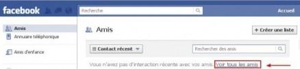 supprimer un ami sur facebook 1