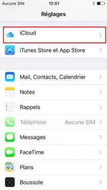 supprimer un iphone de icloud 6