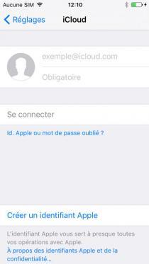 supprimer un iphone de icloud 10