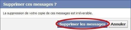supprimer un message dans une conversation facebook 4
