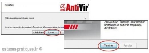 telechargement et installation antivir 3