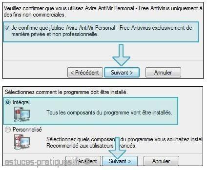 telechargement et installation antivir 1