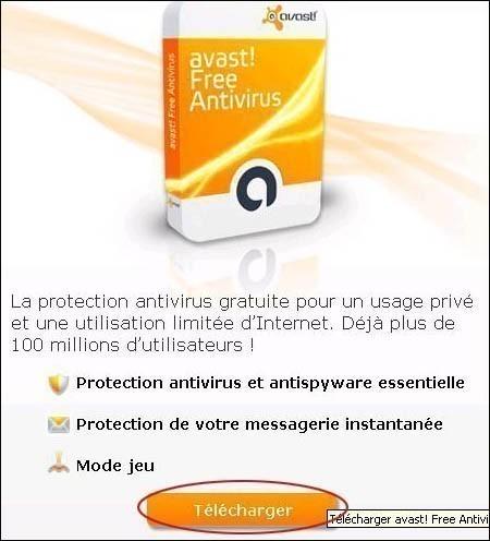 telecharger et installer l antivirus avast 2