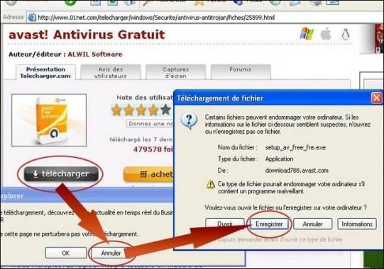 telecharger et installer l antivirus avast 3