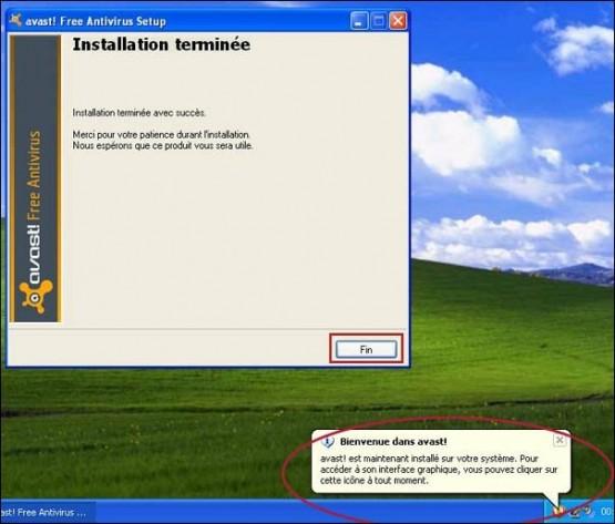 telecharger et installer l antivirus avast 7