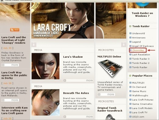 Tomb Raider Patch Multi pour windows XP