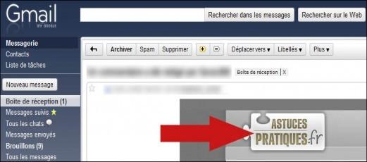 toujours afficher les images des mails sur gmail 1