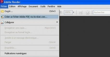 transformer un document word en pdf a partir du site acrobat com 1