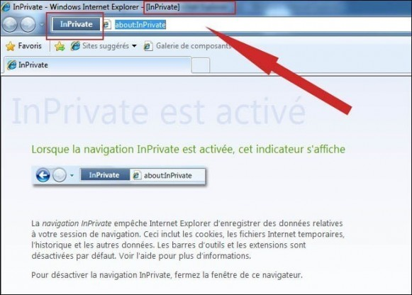 utiliser la navigation privee de internet explorer 8 2