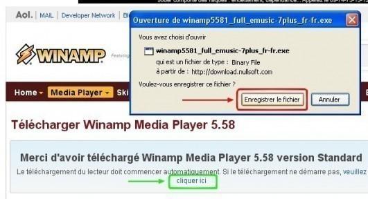 winamp telechargement et installation 2