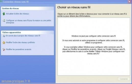 Windows ne veut plus détecter les réseaux Wifi