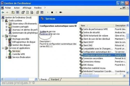 windows ne veut plus detecter les reseaux wifi 6