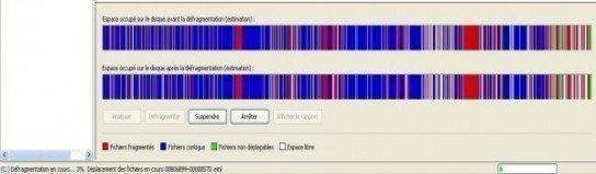 windows xp faire une defragmentation du disque dur 2