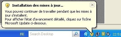 windows xp installer les mises a jour de securite 2