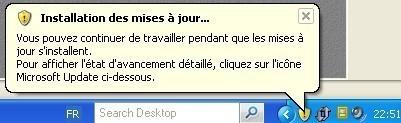 windows xp installer les mises a jour de securite 2