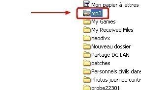 windows xp partager un dossier dans un reseau local 3