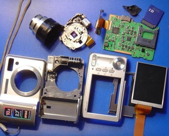zoom bloqué sur appareil photo numérique