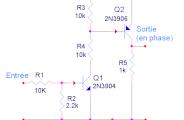 Adaptation de tension pour signal de synchronisation