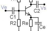 Le transistor bipolaire: émetteur commun