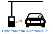 Puissance recharge voiture électrique vs carburant