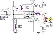 Transformateur électronique 12V : fonctionnement