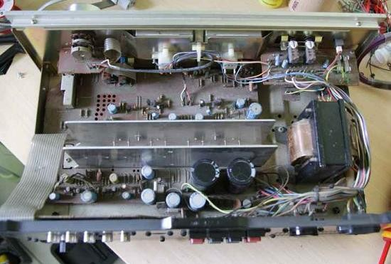 Ampli hifi Pioneer SA 506 schema 2