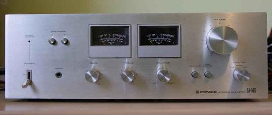 Ampli hifi Pioneer SA 506 schema 17