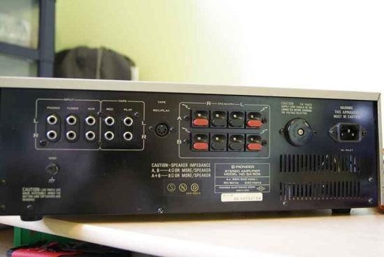 Ampli hifi Pioneer SA 506 schema 18