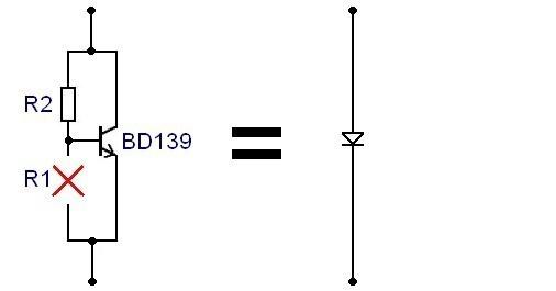 Ampli simple 50W a 200W classe AB schema 3