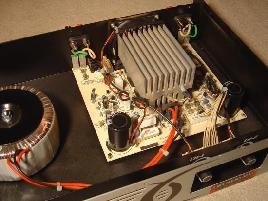 Ampli sono Audiophony AS402 2x200W realisation 1