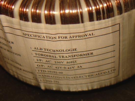 Ampli sono Audiophony AS402 2x200W realisation 2