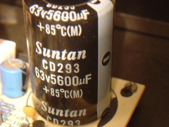 Ampli sono Audiophony AS402 2x200W realisation 3