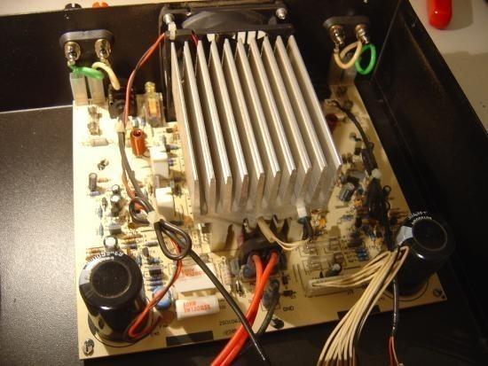 Ampli sono Audiophony AS402 2x200W realisation 5