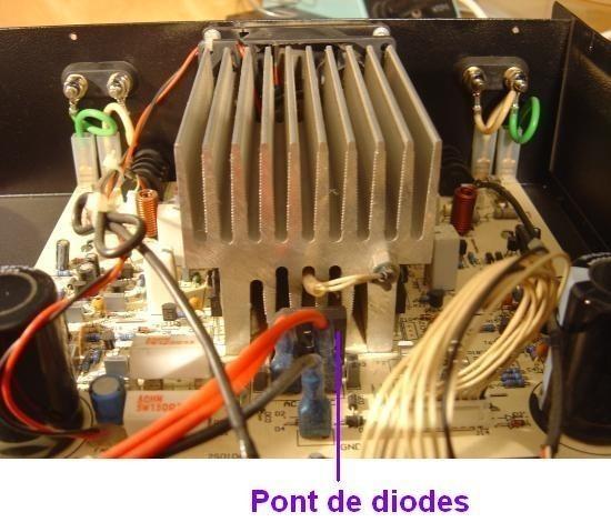 Ampli sono Audiophony AS402 2x200W realisation 6