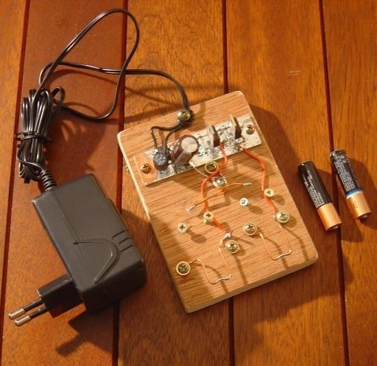 Chargeur de piles non rechargeable realisation 0